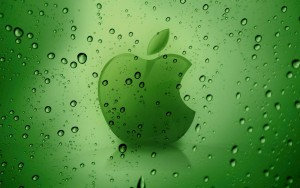 Apple Green Waters Wallpaper Hd