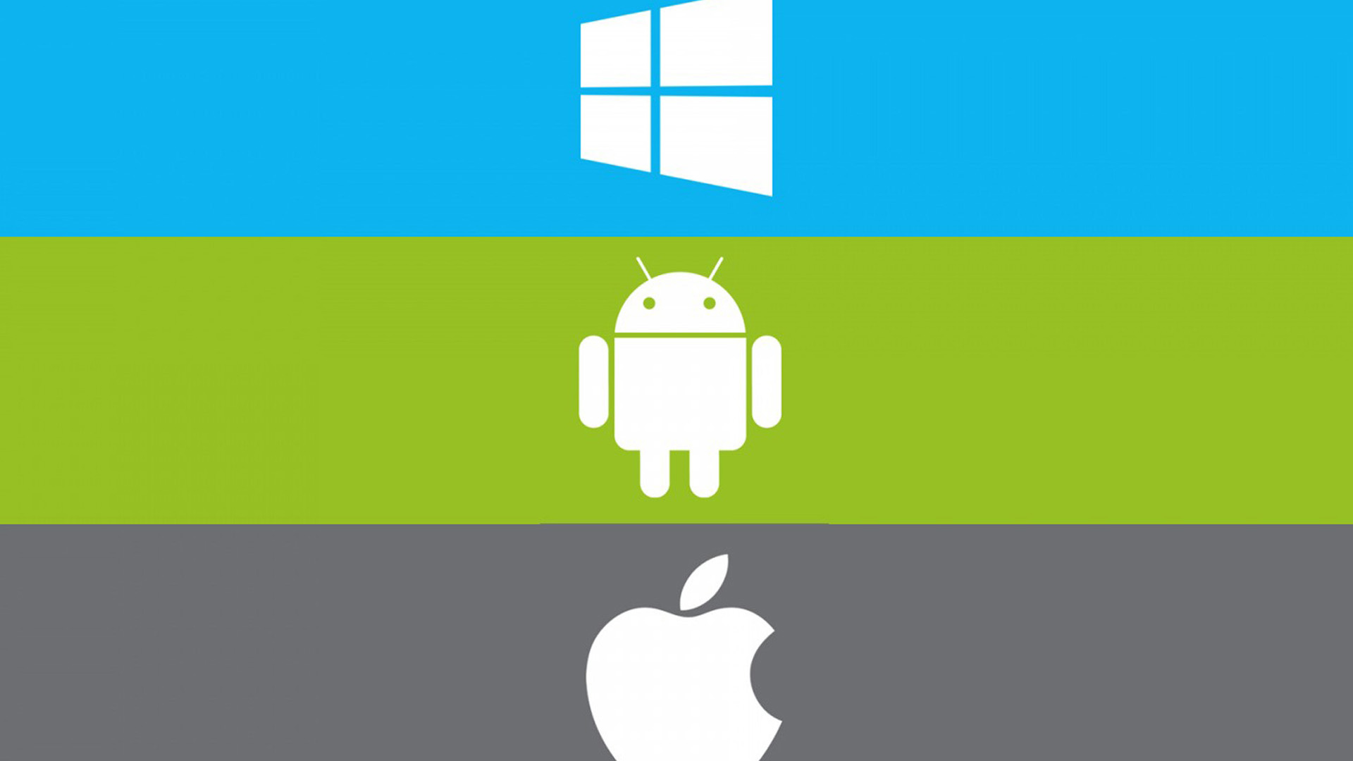 Apple Microsoft Wallpaper