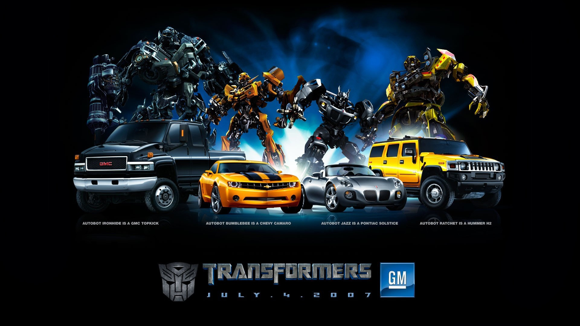Autobots Transformers Wallpaper Movie