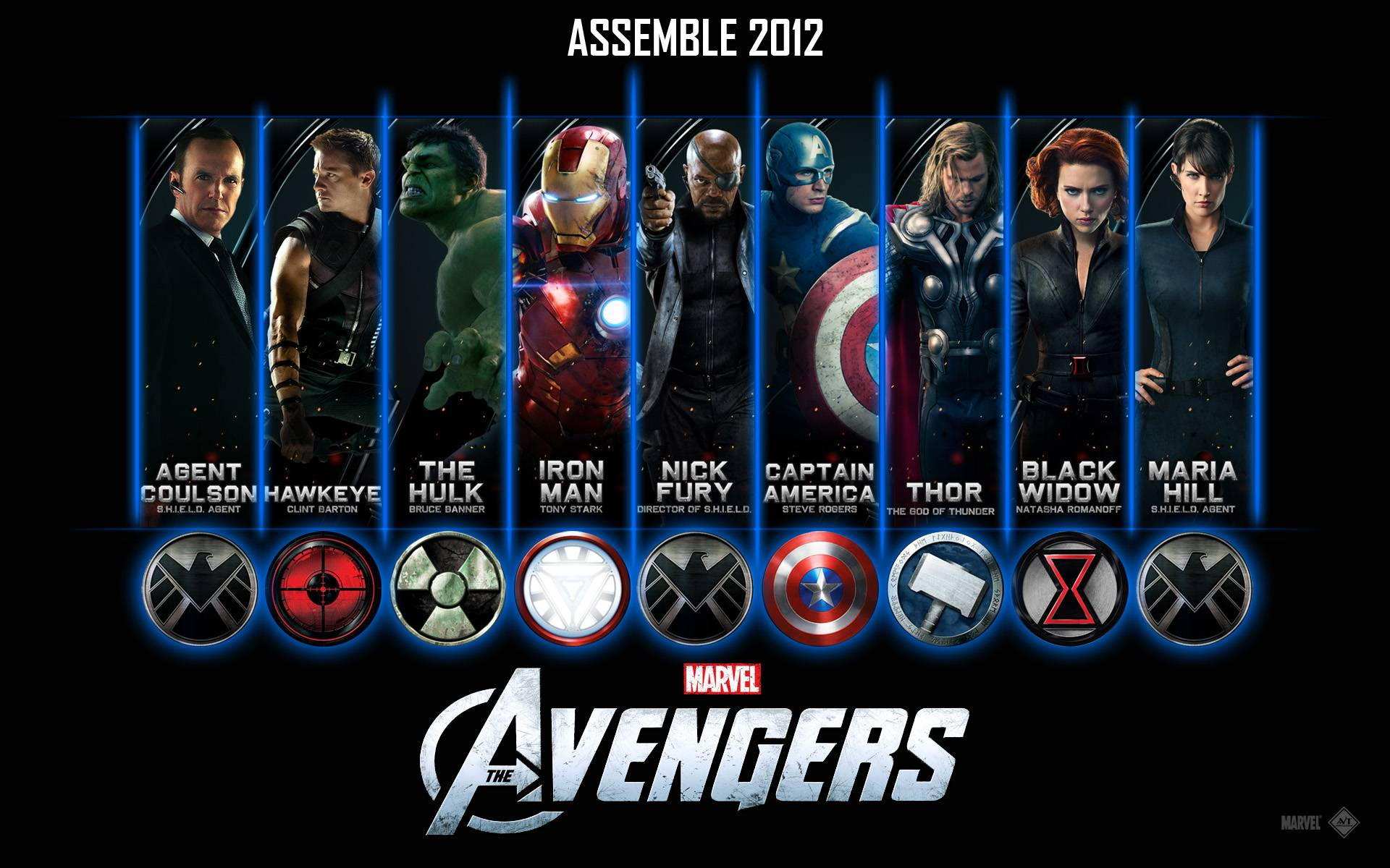 Avengers Movie 2012 Wallpaper
