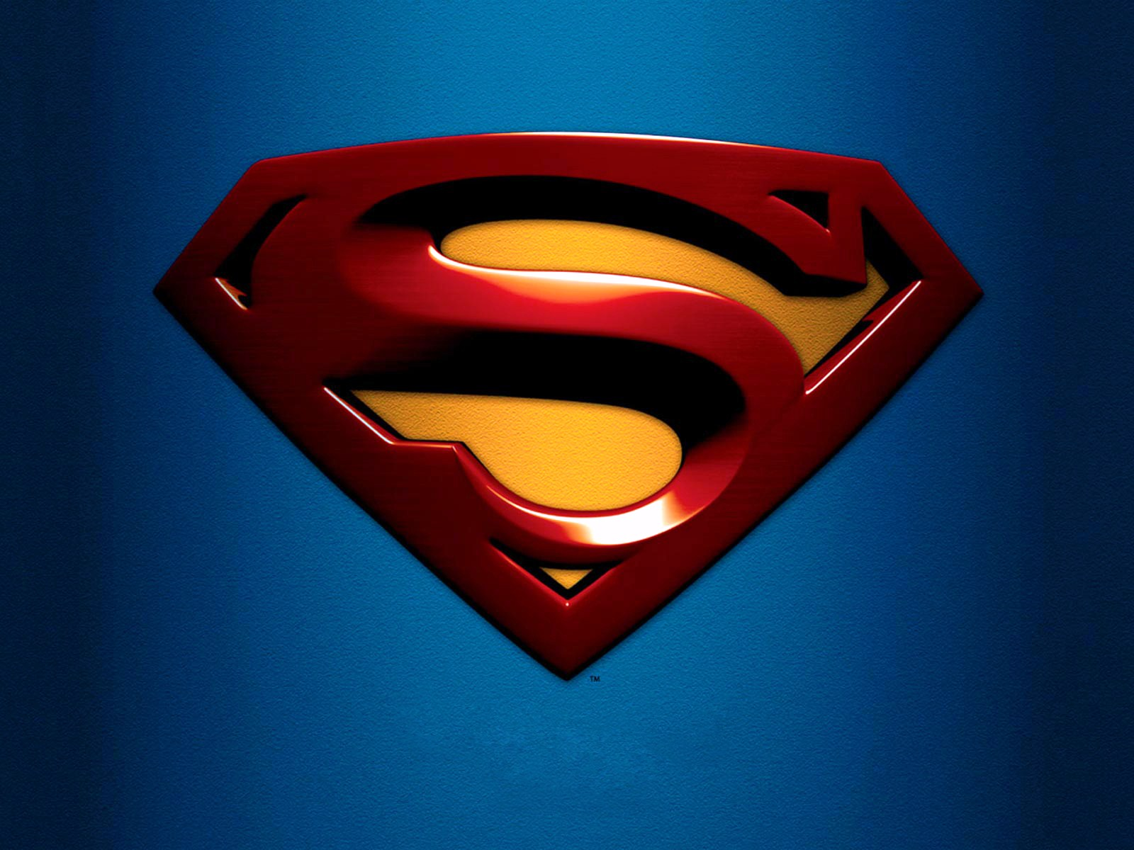 Awesome Logo Superman Wallpaper