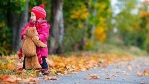 Baby With Teddy Hd Picture