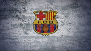 Barcelona Awesome Logo Wallpaper
