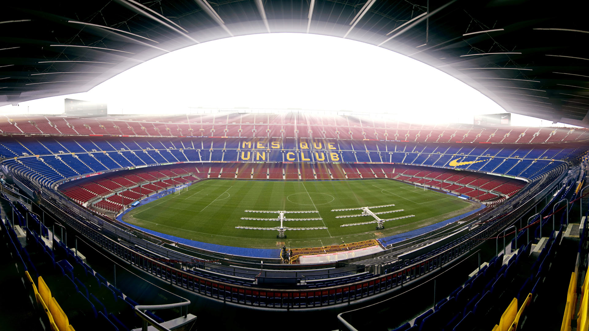 Barcelona Camp Nou Stadium Wallpaper