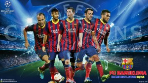 Barcelona Champion League Wallpaper