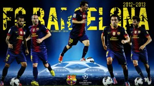 Barcelona Champions Wallpaper Hd