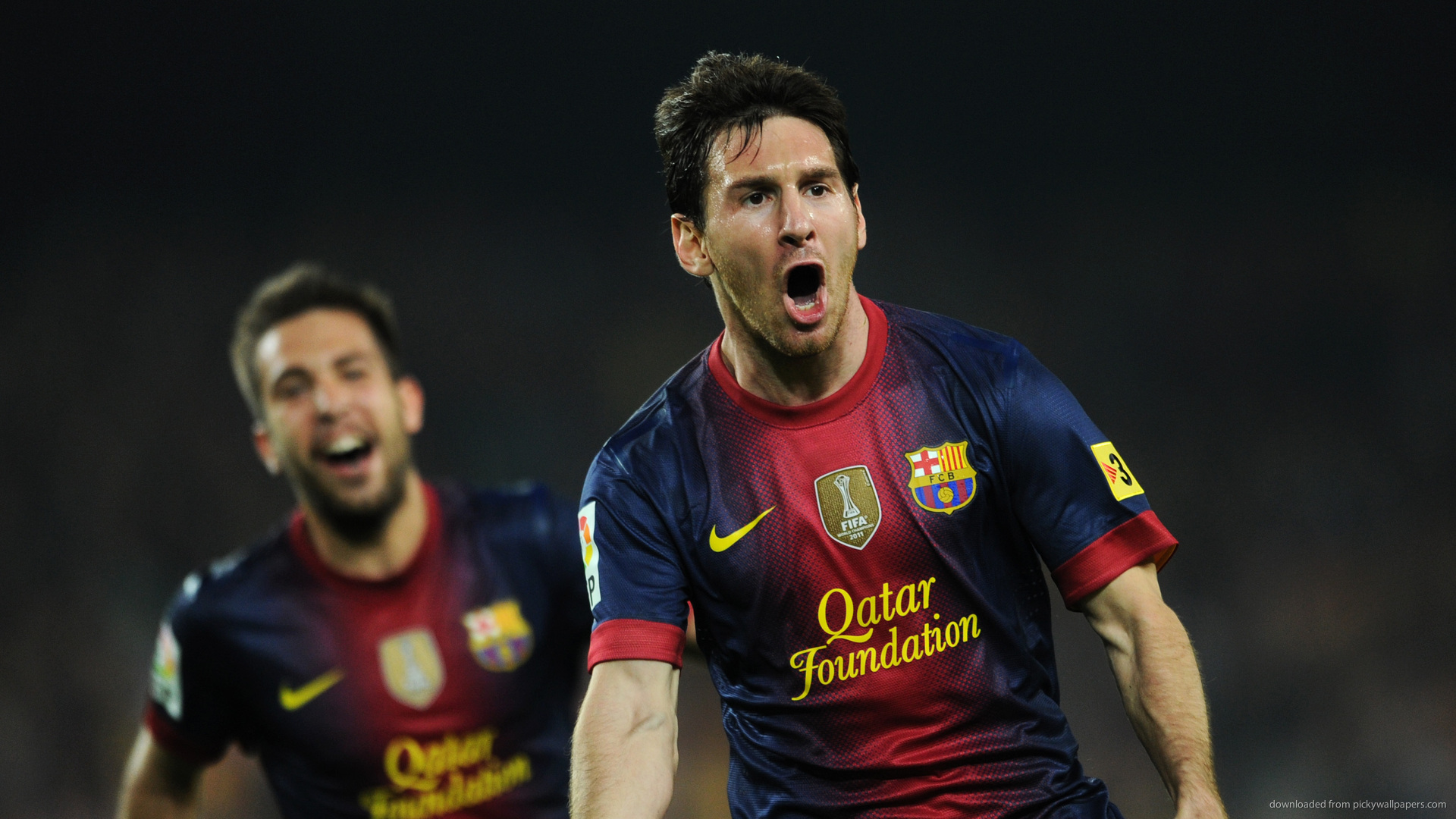 Barcelona Goal Messi Wallpaper Hd