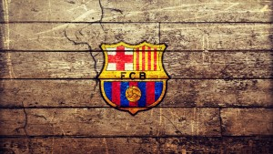 Barcelona Wallpaper Wood
