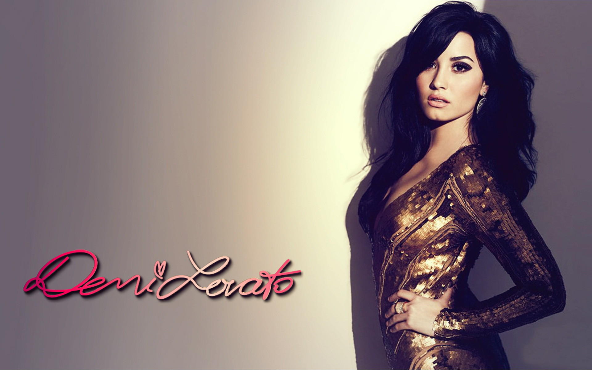 Beauty Demi Lovato Wallpaper