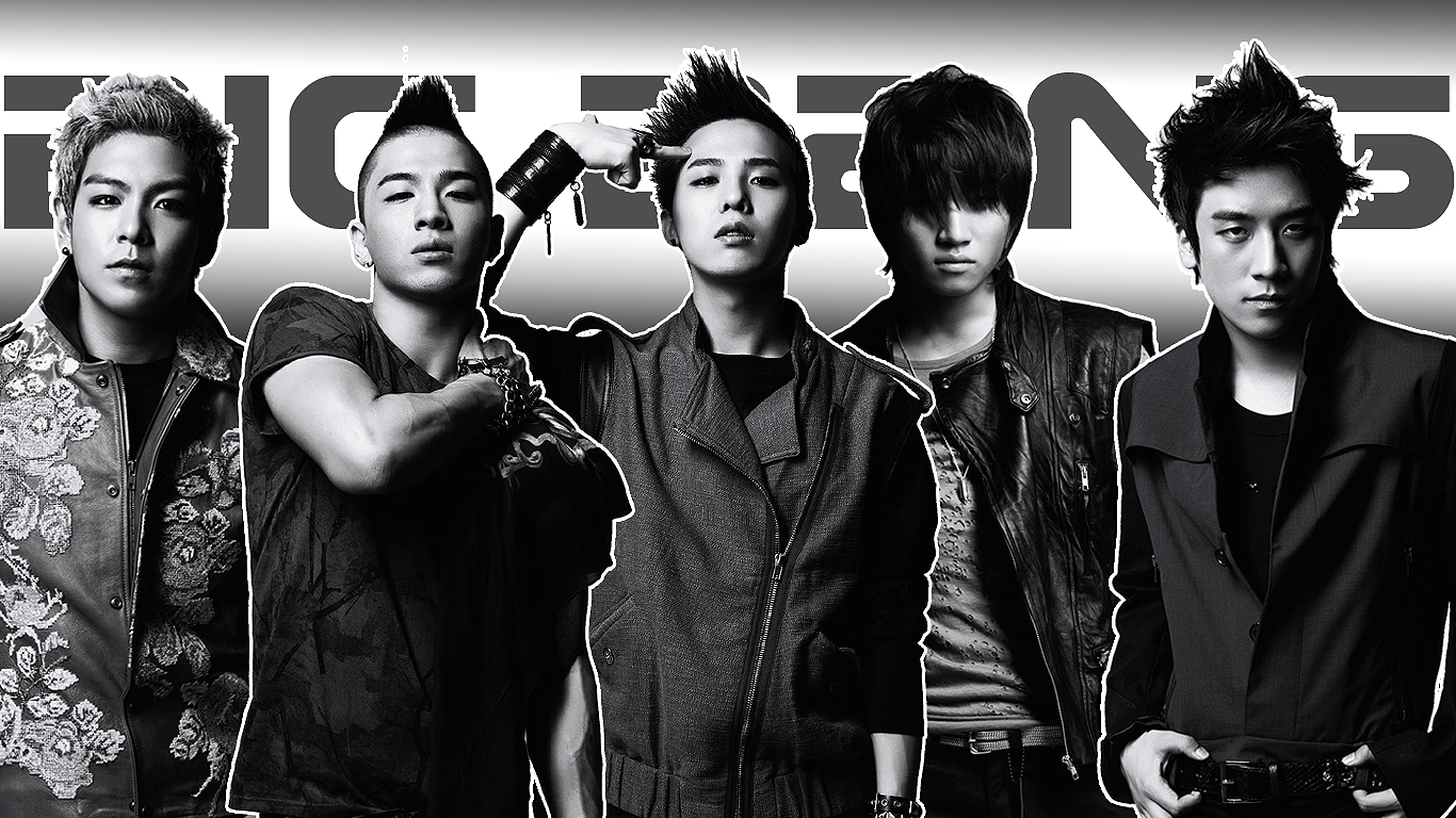 Big Bang Poster Wallpaper