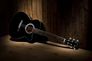Black Acoustic Wallpaper HD