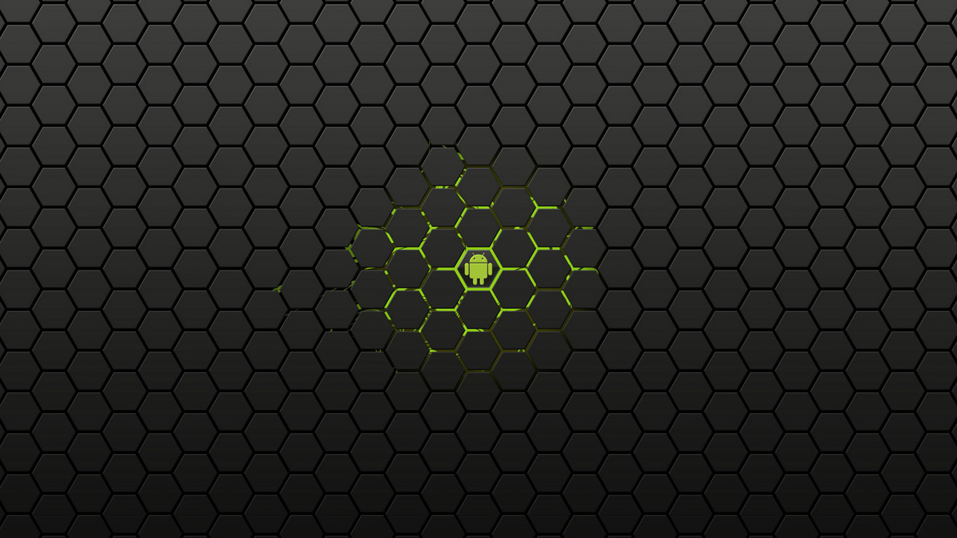 Black Background Android Image