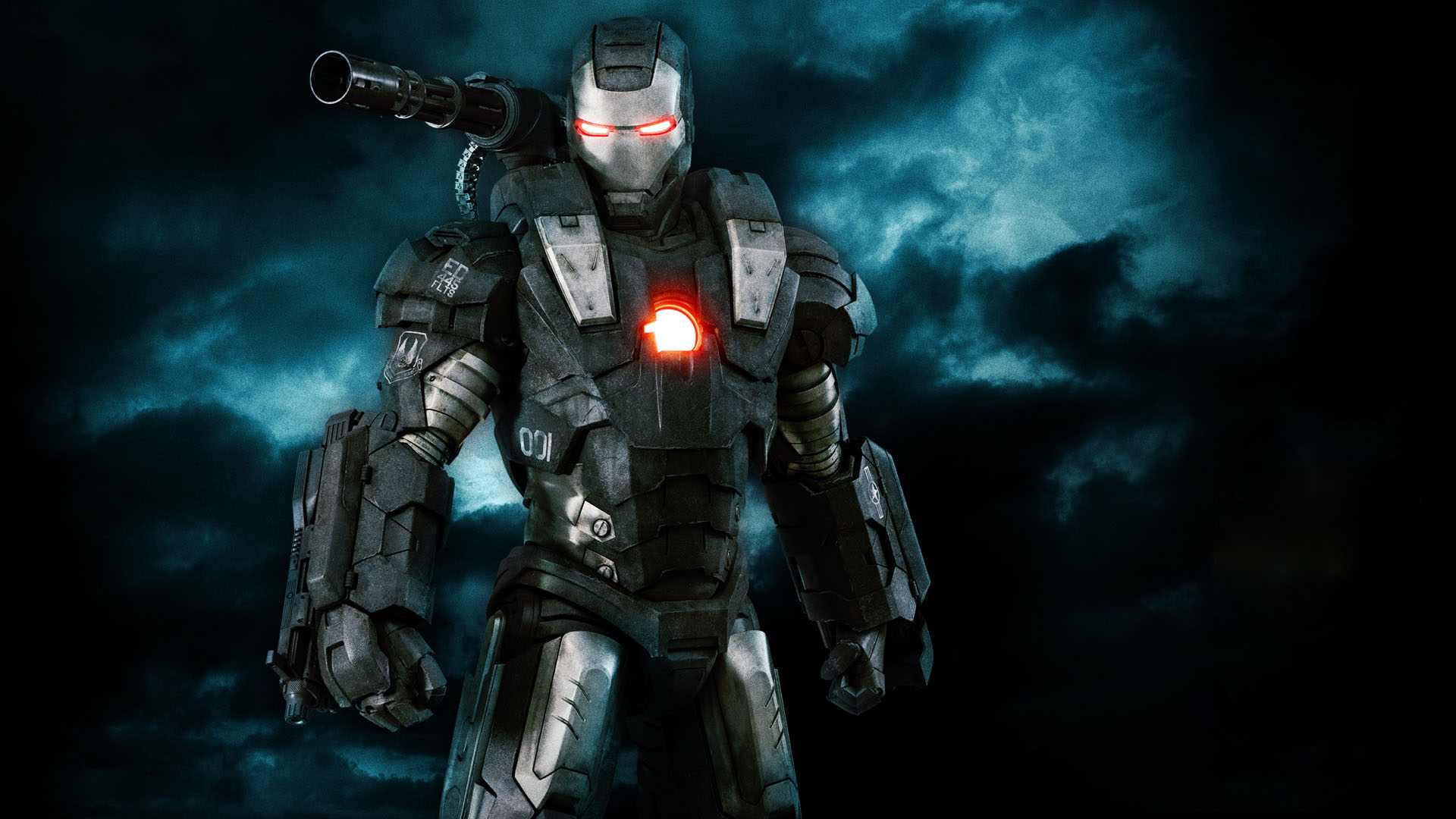 Black Iron Man Image