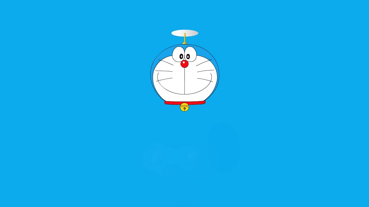 Blue Background Doraemon Wallpaper Downloads