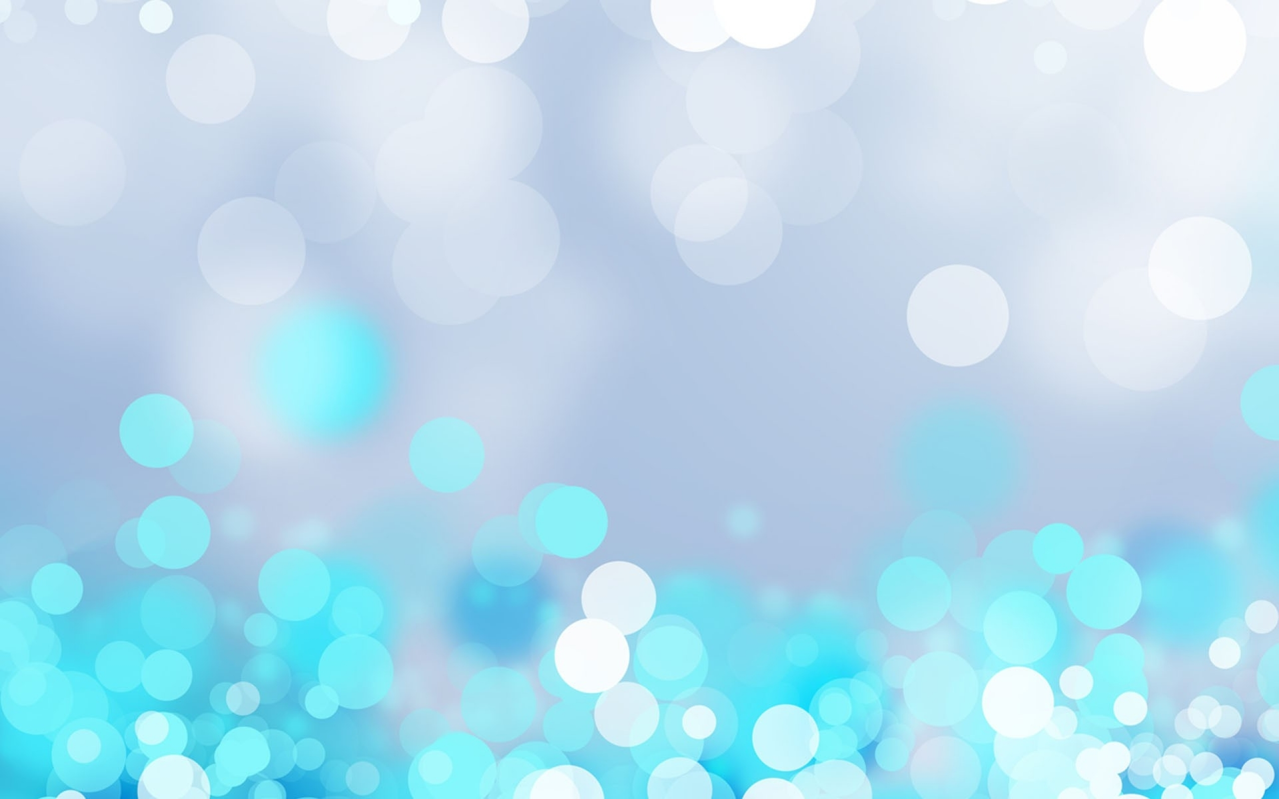Blue Bokeh Wallpaper