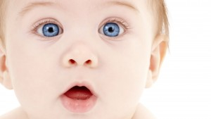 Blue Eyes Baby Hd Wallpaper