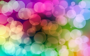 Bokeh Circle Wallpaper