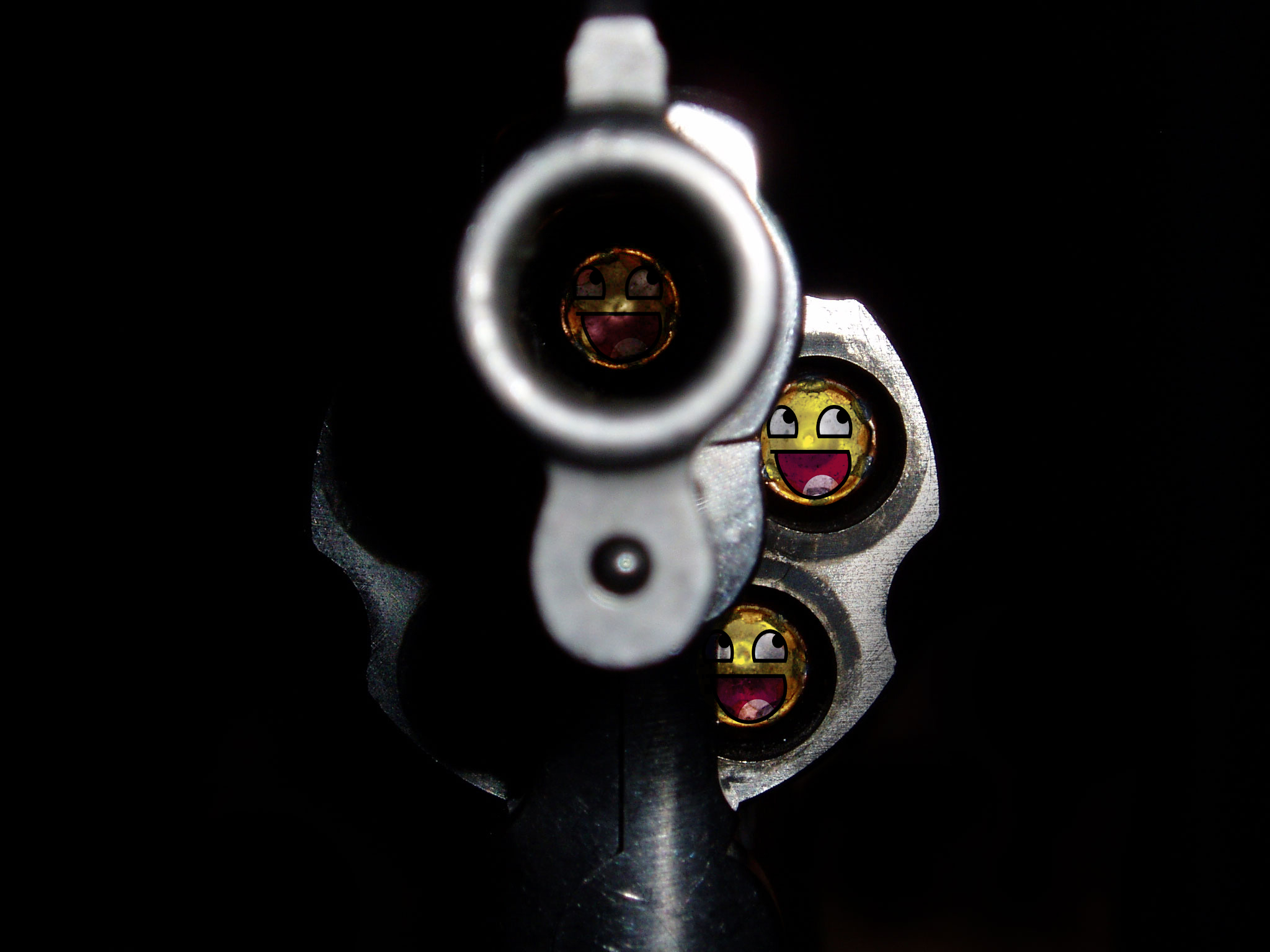 Bullets Funny Wallpaper