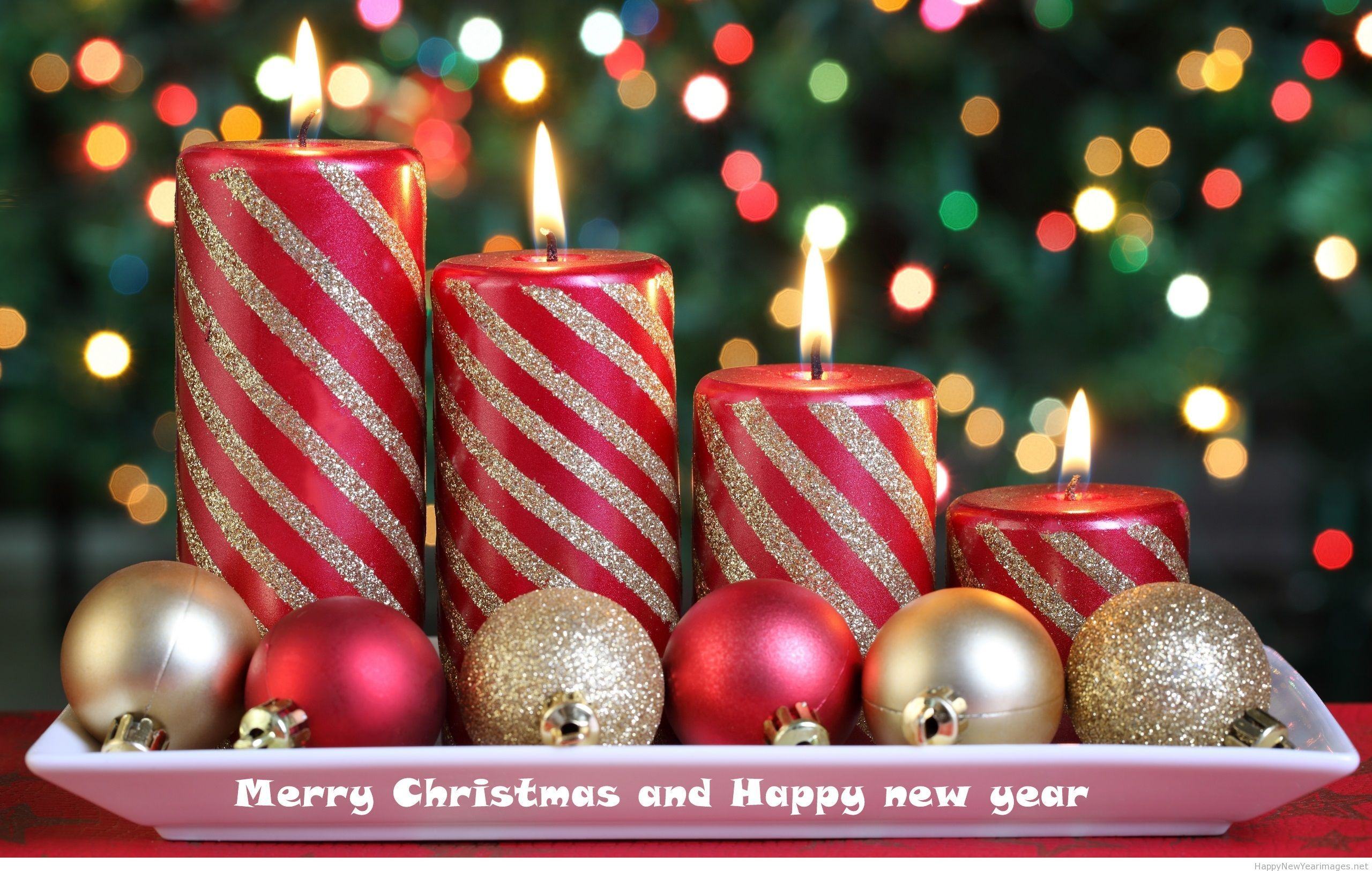 Candle Merry Christmas 2015 Wallpaper