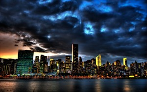 City Night Wallpaper Widescreen