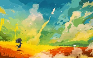 Clouds Art Wallpaper Desktop