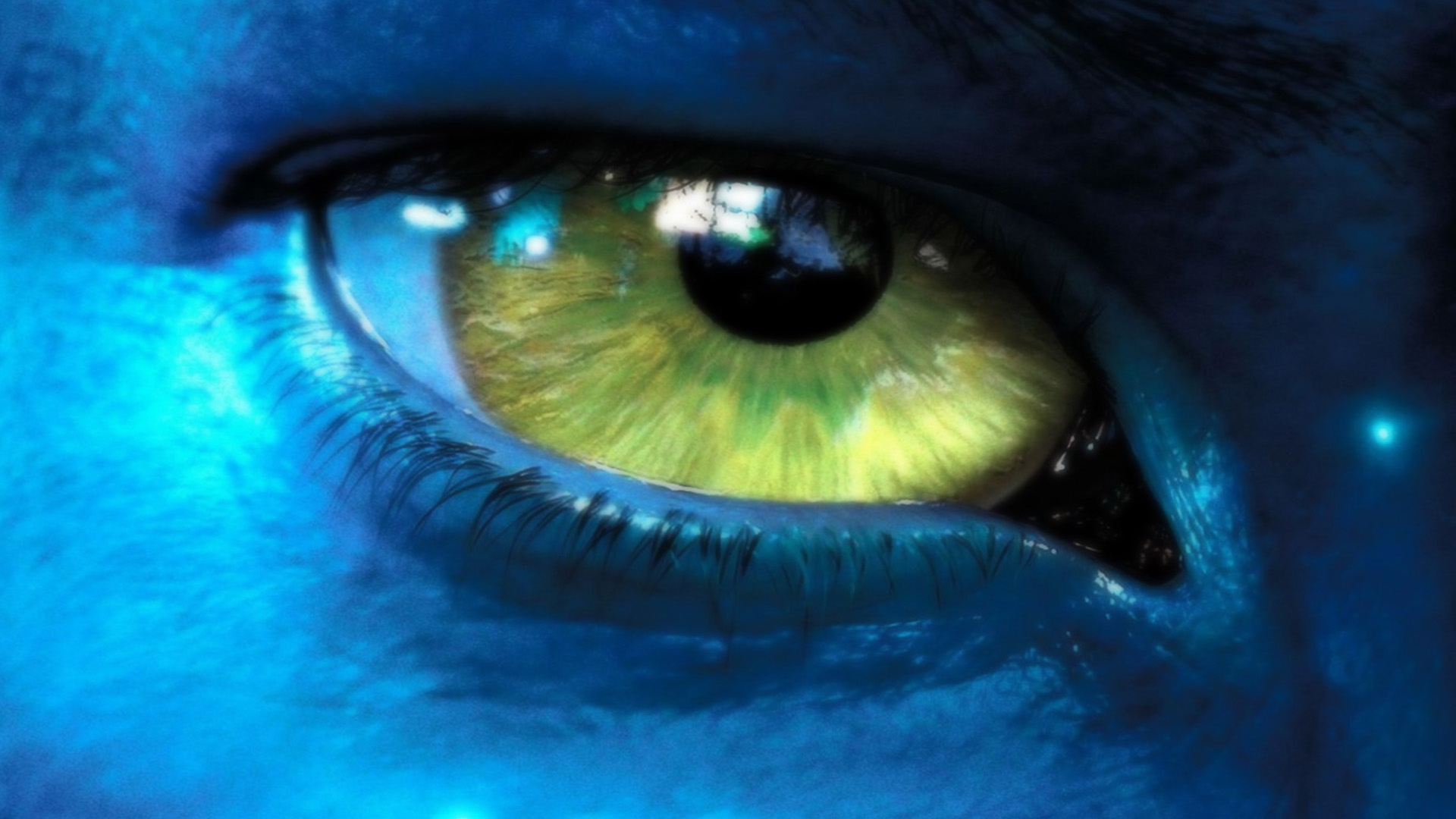 Cool Eyes Avatar Movie Wallpaper
