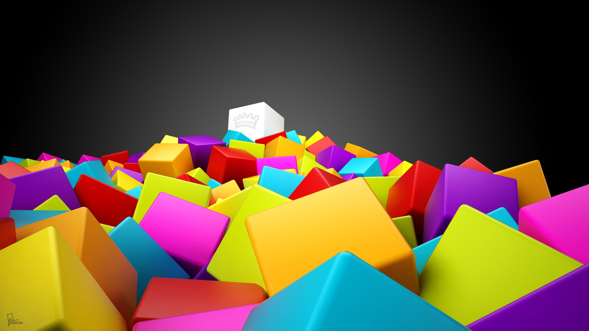 Cube Color Image