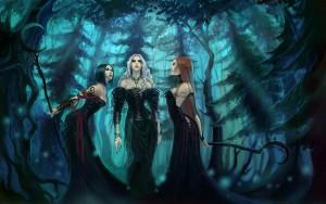 Dark Girl Fantasy Wallpaper