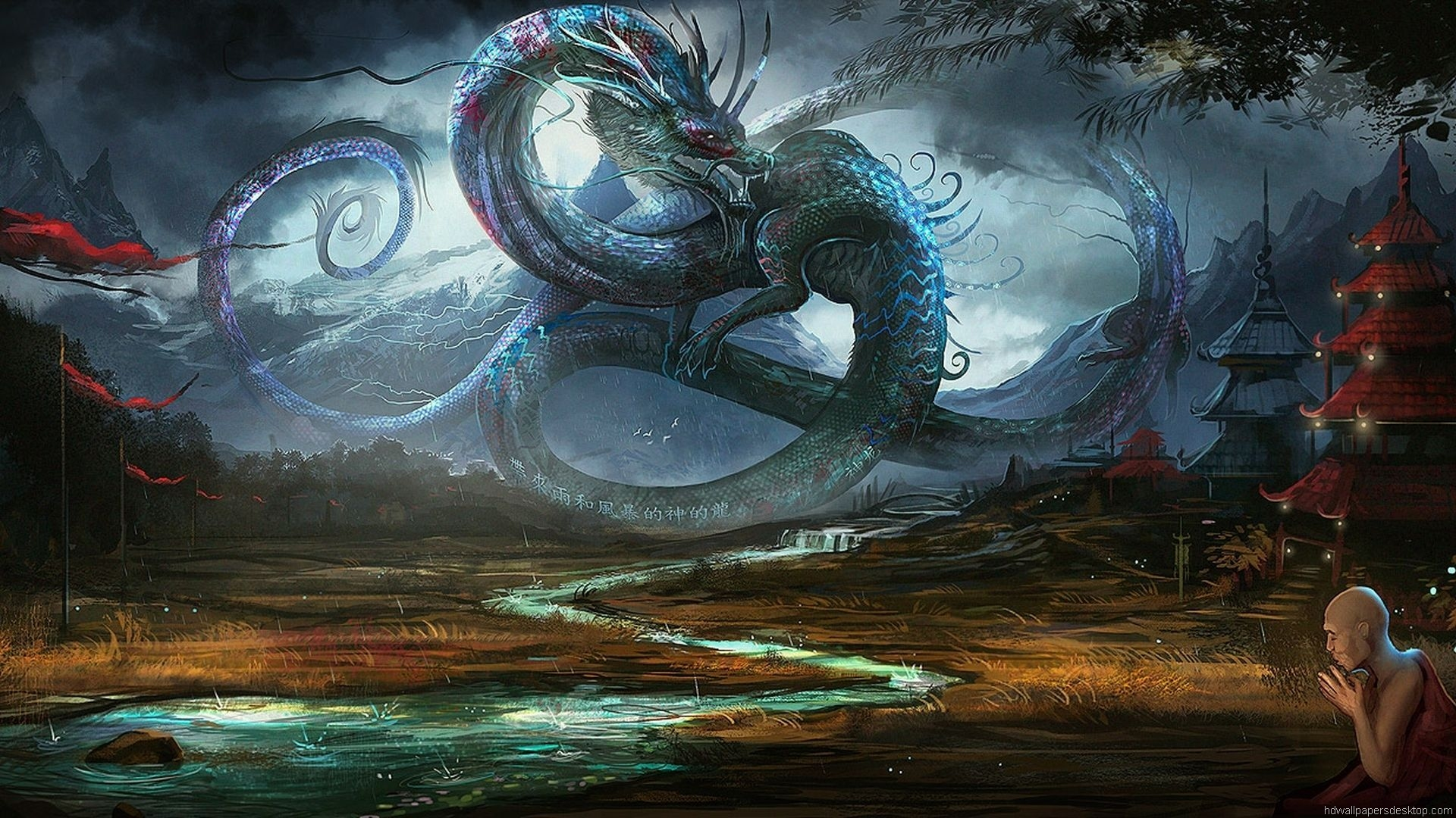 Dragon Fantasy Wallpaper