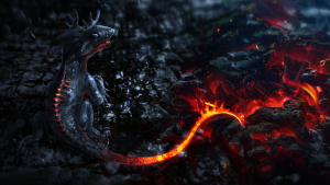 Dragon Red 3D Wallpaper 1920x1080