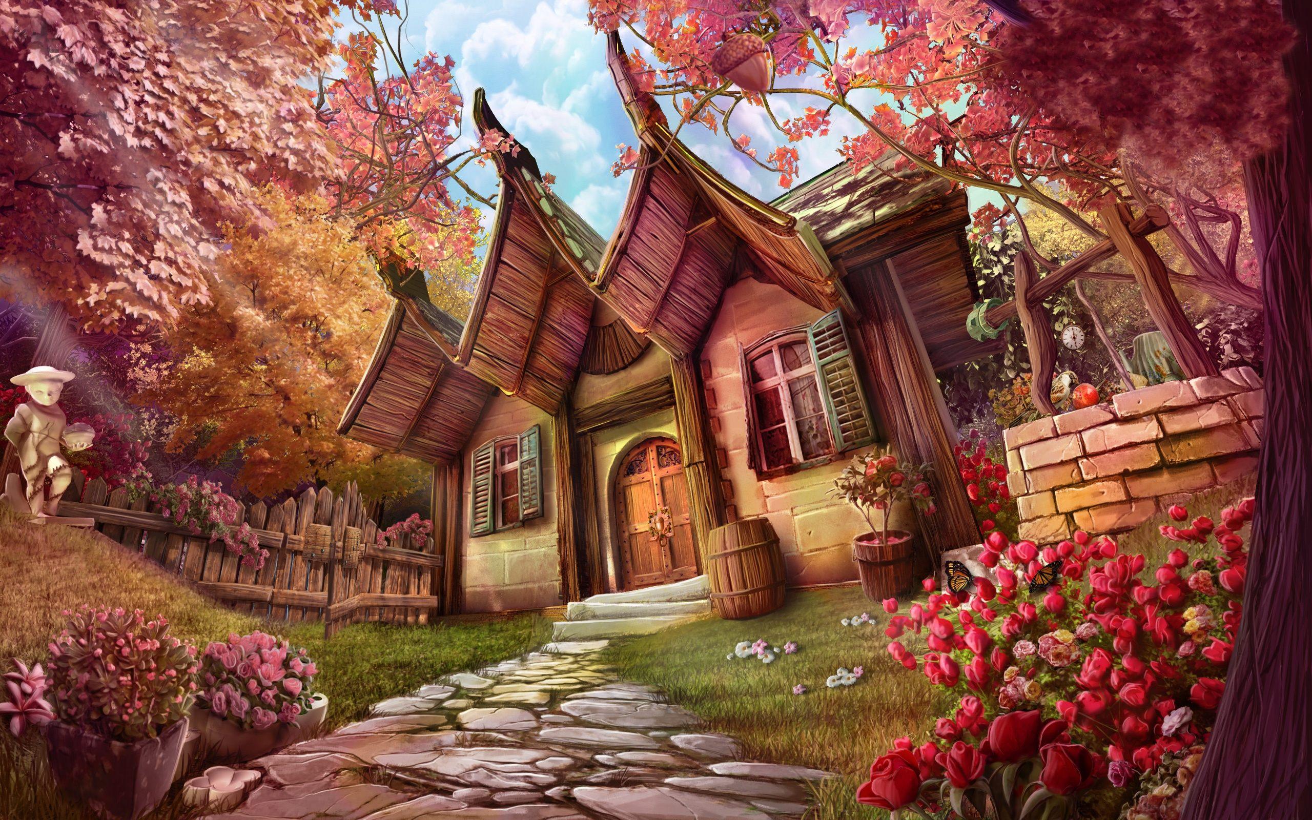 Dream Forest Fantasy Wallpaper