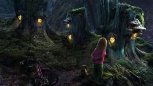 Fantasy Trees Wallpaper