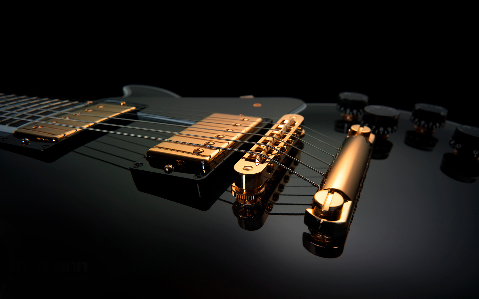 Full 3D Guitar Wallpaper HD