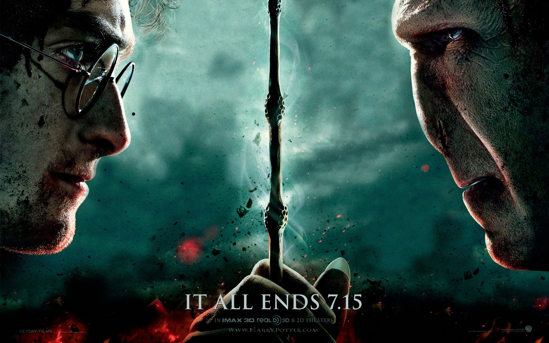 Fullscreen Movies Harry Potter 7 Wallpaper