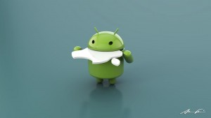 Funny Logo Android Wallpaper