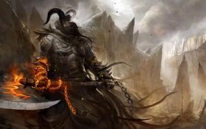 Gollum Fantasy Wallpaper