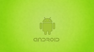 Green Android Design Hd Wallpaper