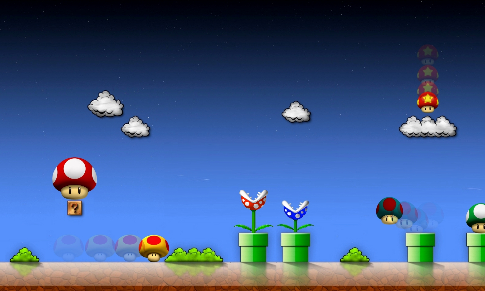 HD Pics Super Mario Wallpaper