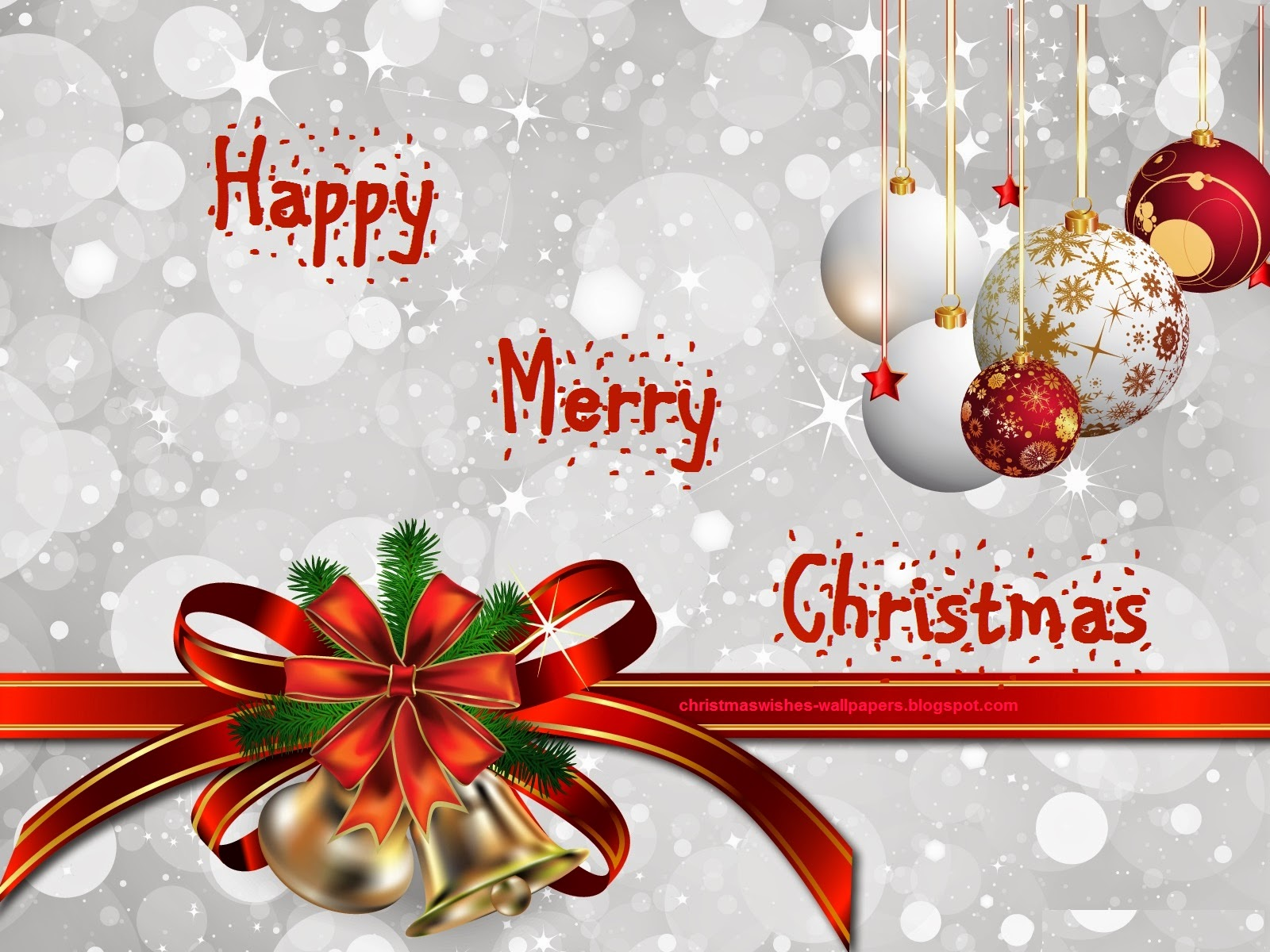 Happy Christmas Wallpaper Free Desktop