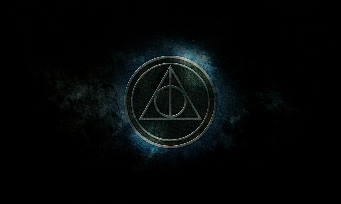 Harry Potter Symbol Hallows Wallpaper PC
