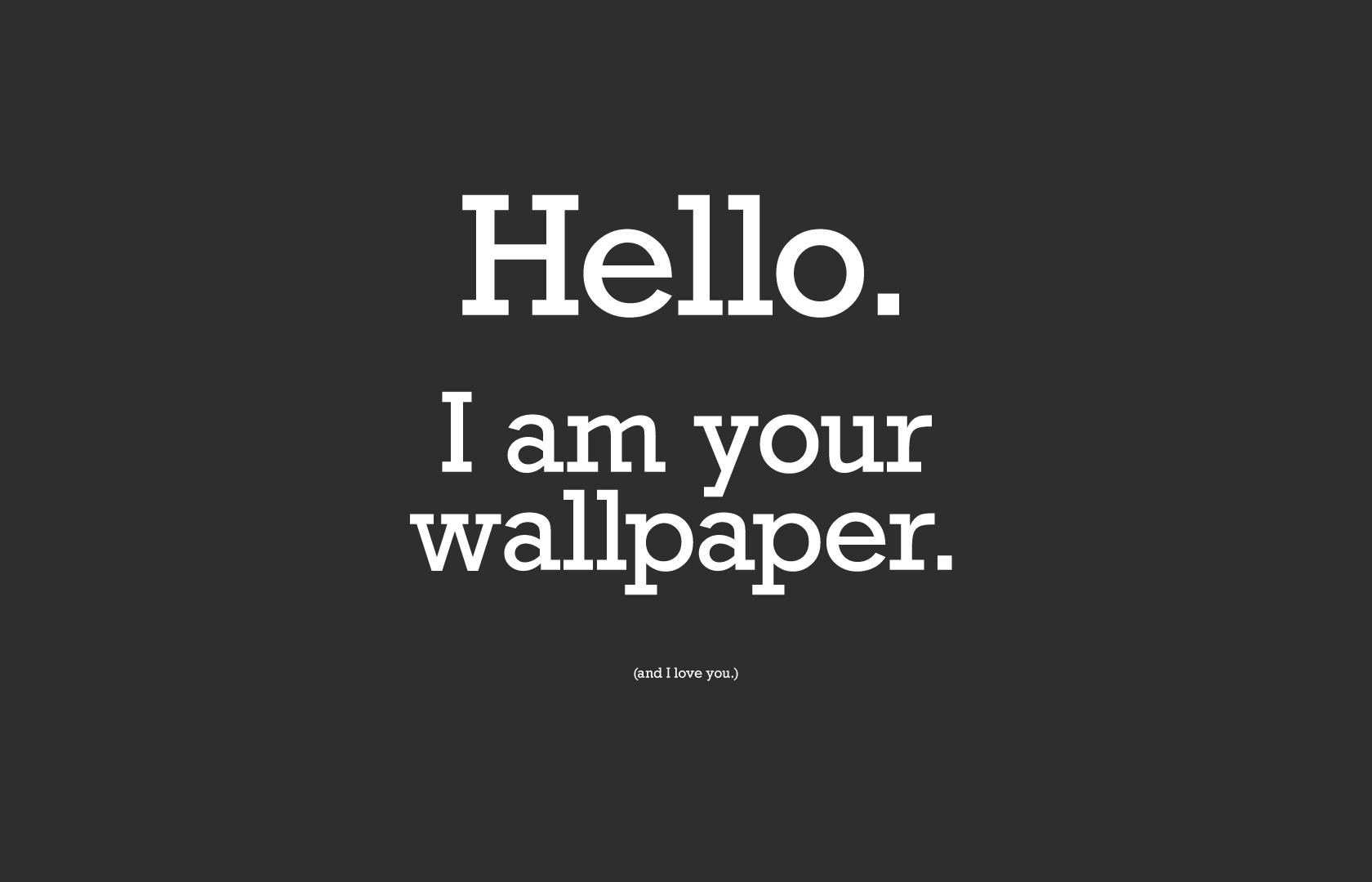 Hello Wallpaper Background