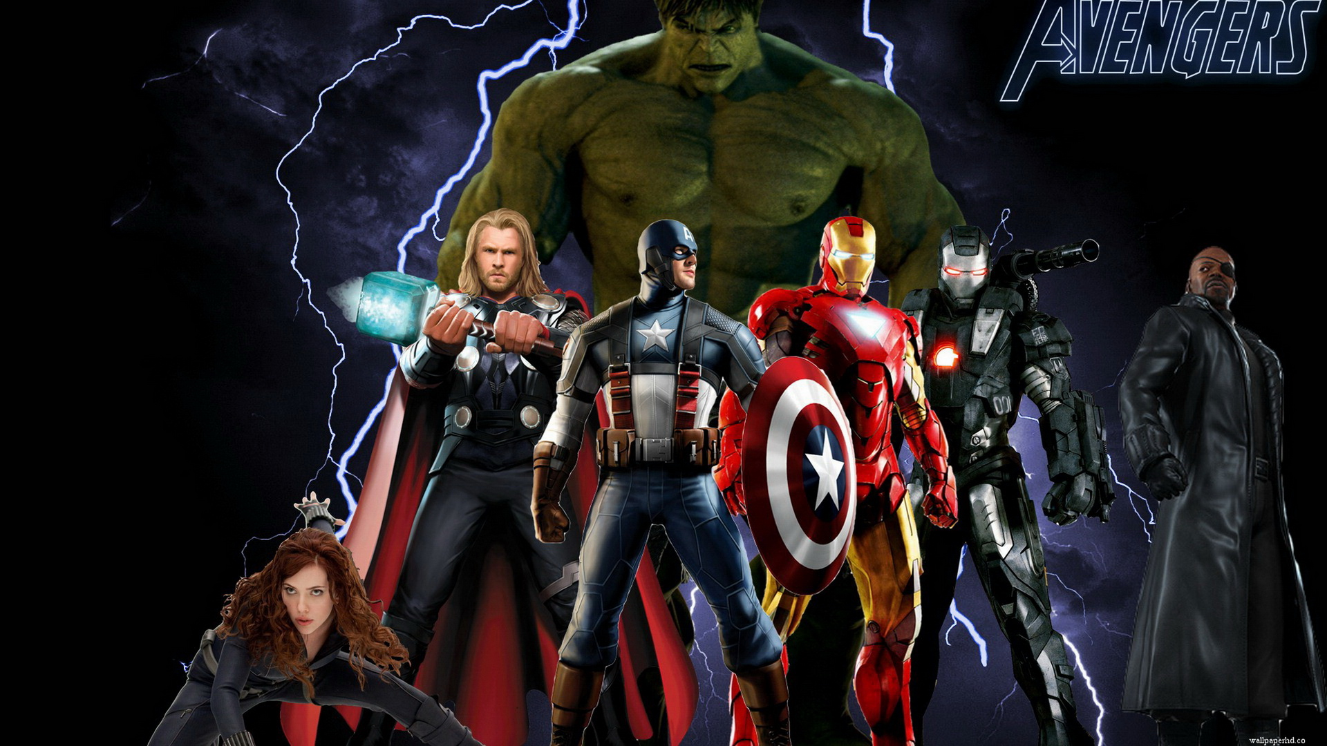 Hero Avengers Movie Wallpaper
