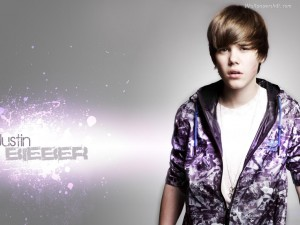 Justin Bieber Star Wallpaper