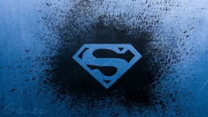 Logo Superman Wallpaper Desktop HD