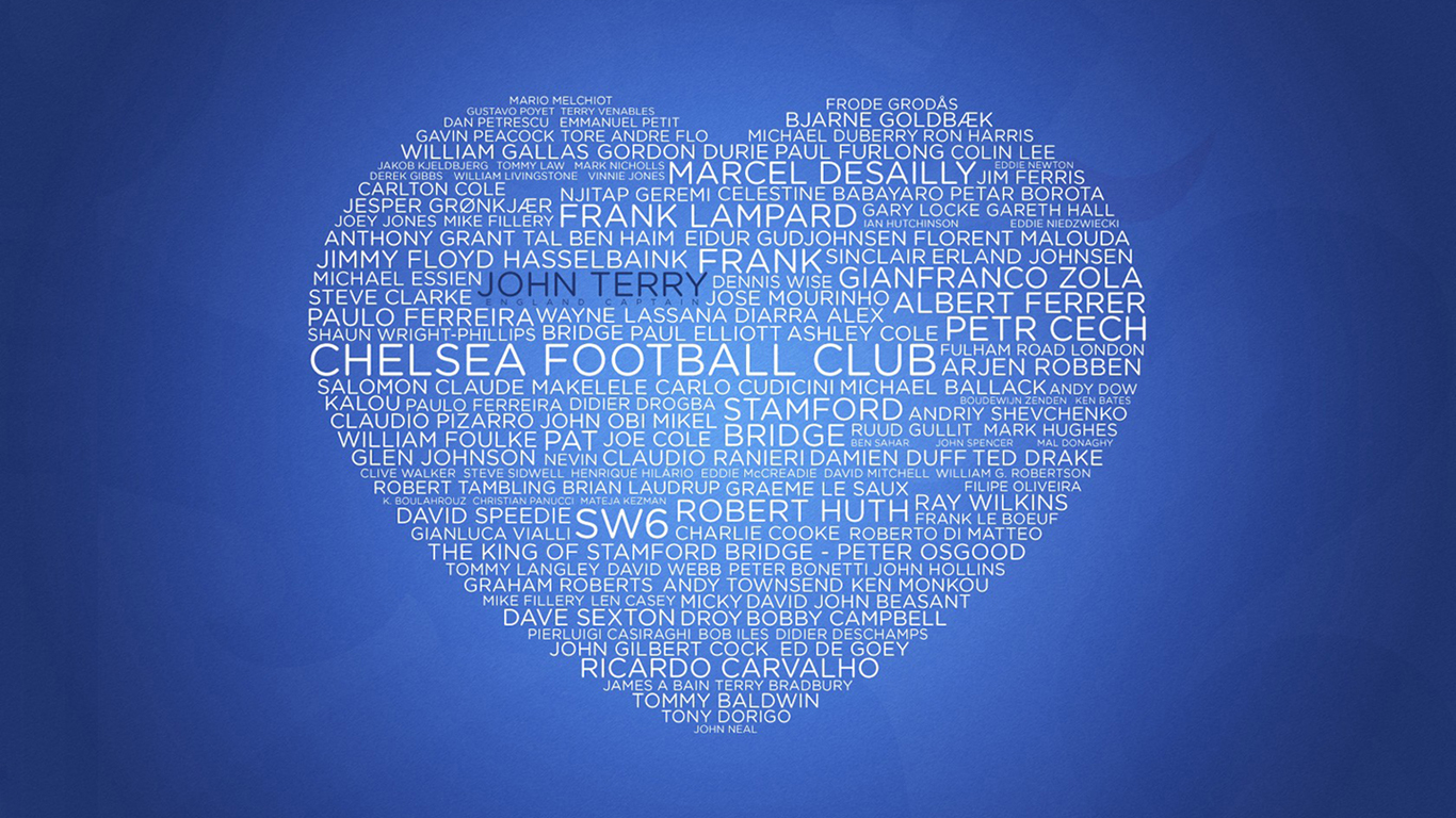 Love Chelsea Wallpaper