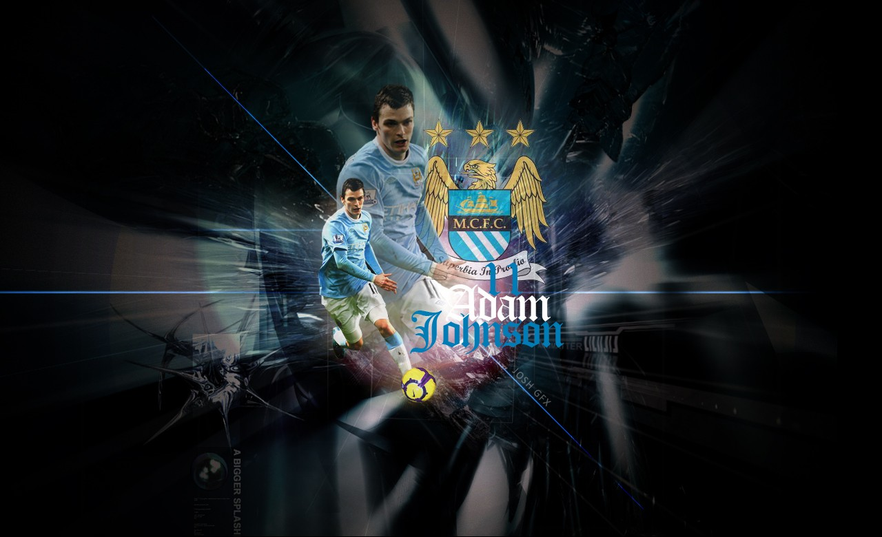 Man City Wallpapers 2015: Manchester City, Johnson, Wallpaper #15402 Wallpaper