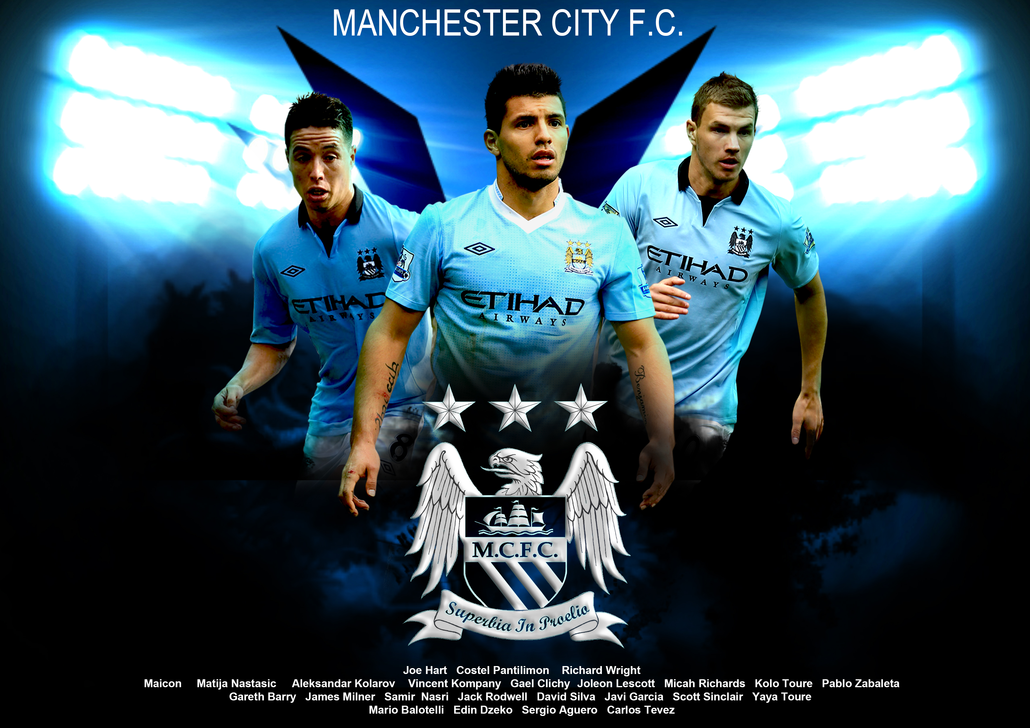 Manchester City Striker Image