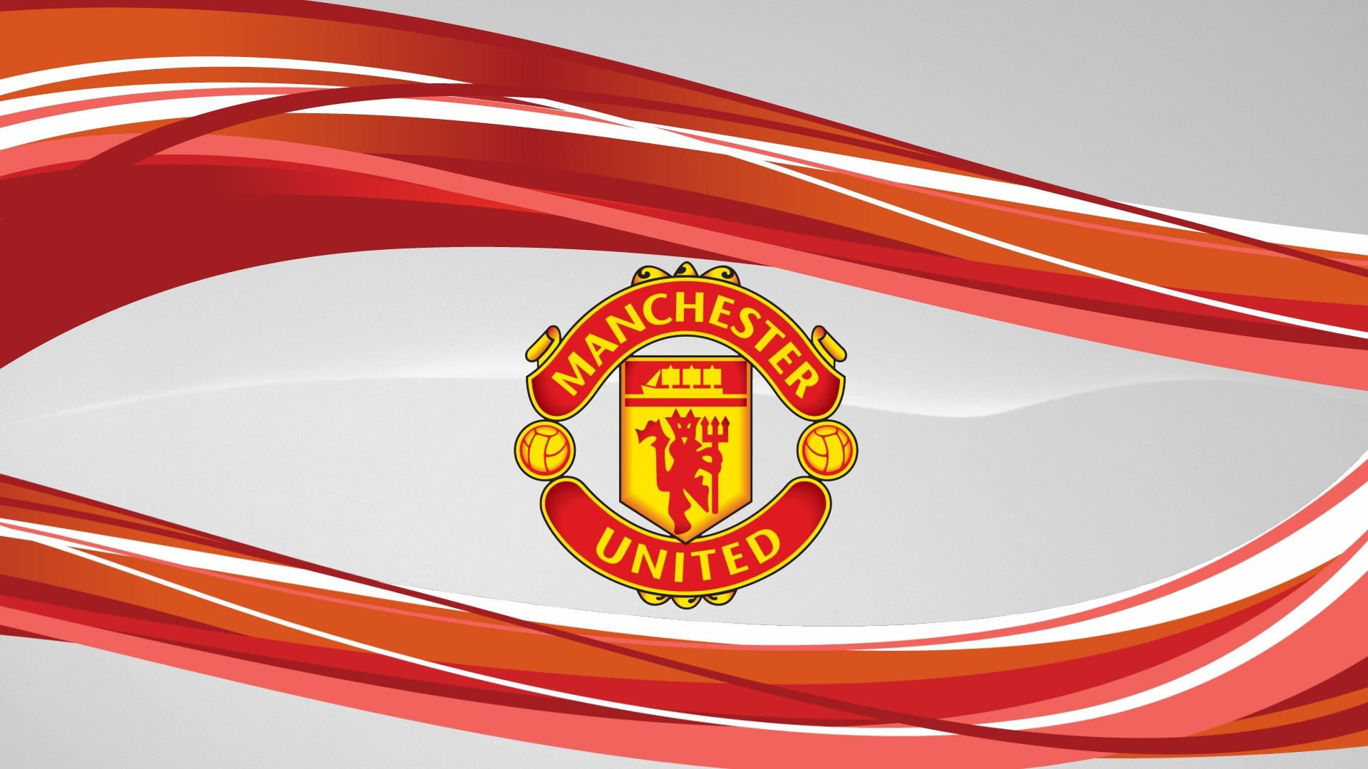 Manchester United Abstract Hd Wallpaper
