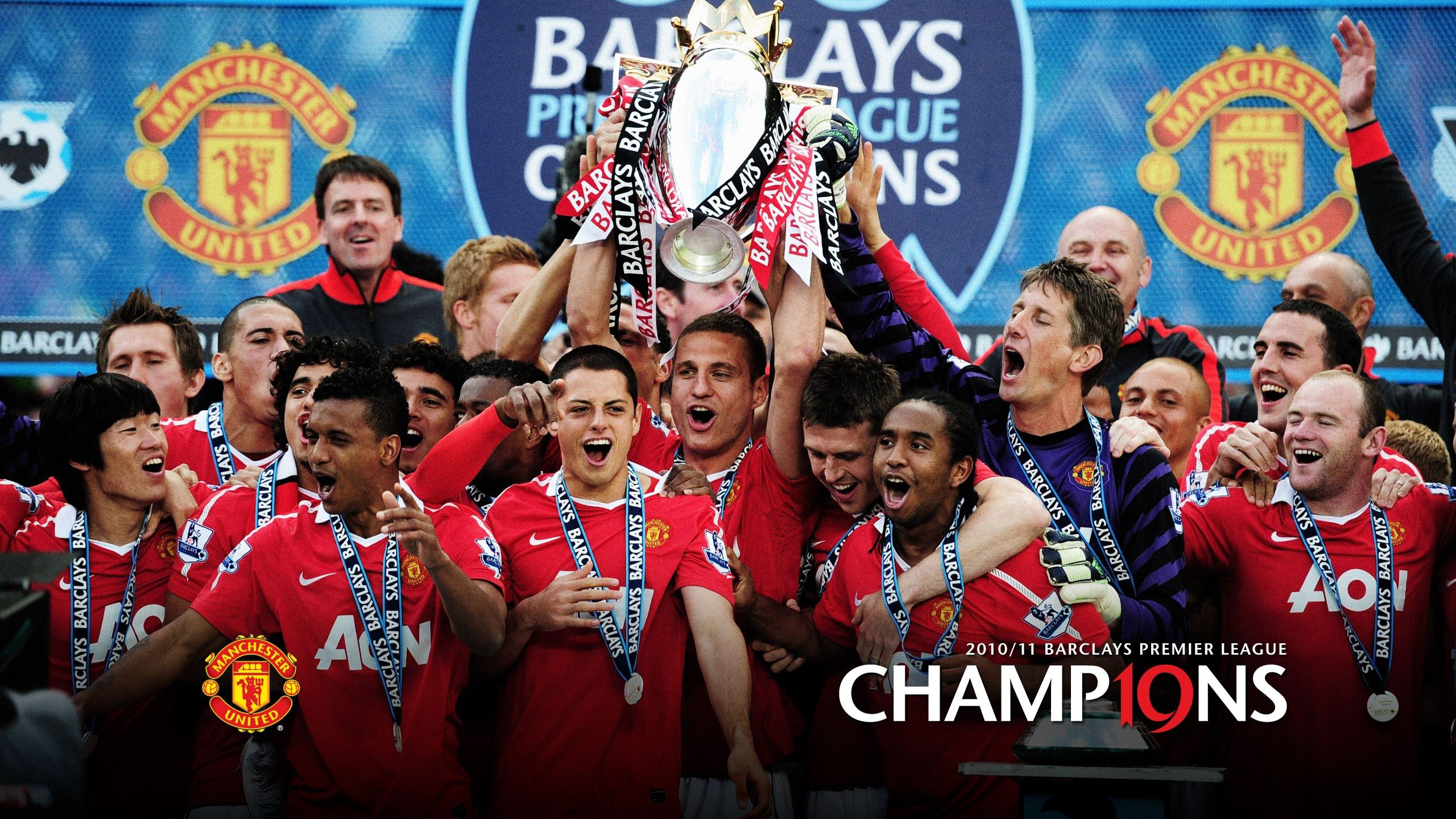 Manchester United Champ19ns Hd Wallpaper