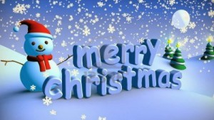 Merry Christmas Wallpaper Snowman HD